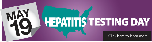Hepatitis Testing Banner, Community Education Group