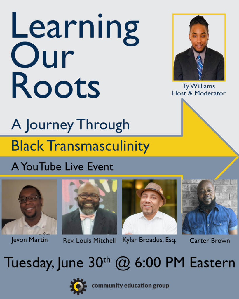 Learning Our Roots Flyer White 819x1024, Community Education Group