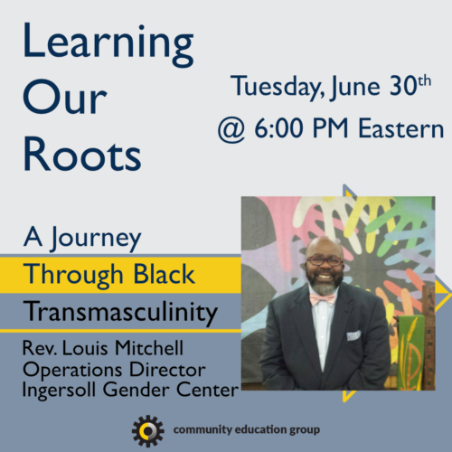 Learning Our Roots Square Reverend Mitchell 1 99999x500, Community Education Group