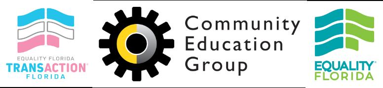 CEG EQFL 1, Community Education Group