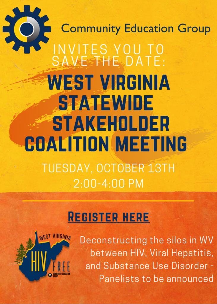 West Virginia Hiv Stakeholder Meeting 731x1024, Community Education Group