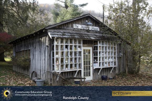 The Honey Haus in Randolph County, West Virginia
