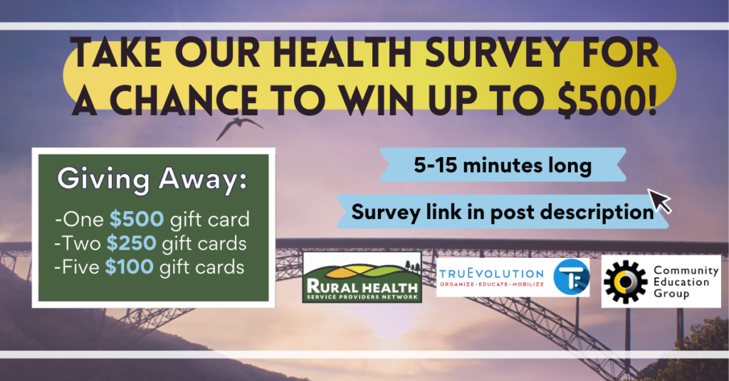 Take our health survey for a chance to win up to $500  Giving Away: -One $500 gift card -Two $250 gift cards -Five $100 gift cards  5-15 minutes long Survey Link in Post Description