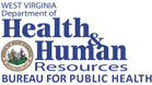 West Virginia Department of Health and Human Resources Bureau for Public Health logo