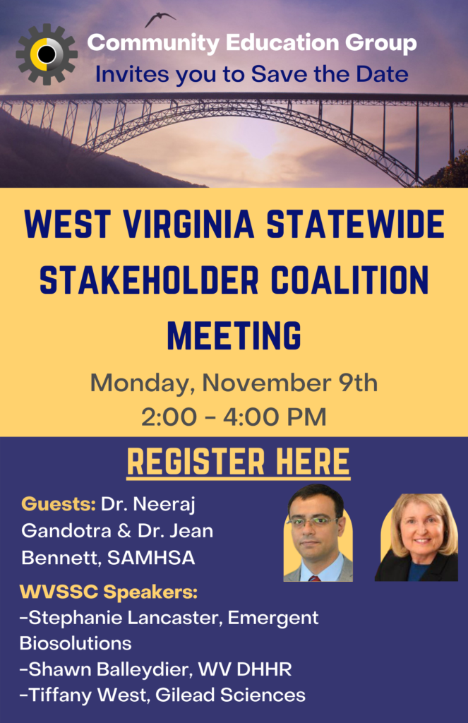 WV State Stakeholder Coalition Meeting 2 663x1024, Community Education Group