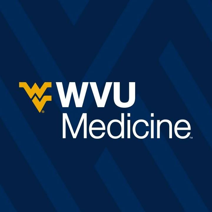 WVU Medicine Logo on Blue Background